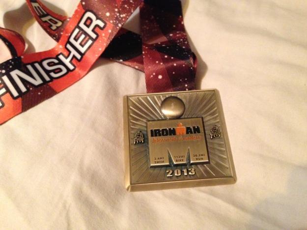 ironman wisconsin medal 2013
