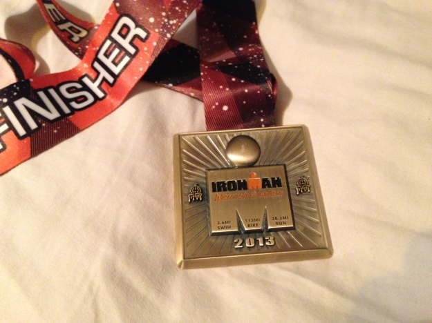 ironman wisconsin medal 2013